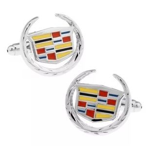 Other - Cadillac Auto Car Cufflinks Set Men's Jewelry